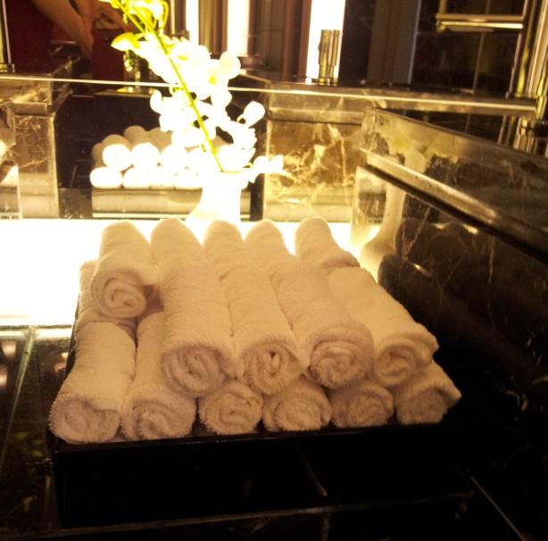 Hotel Nikko Saigon - the ladies' room!