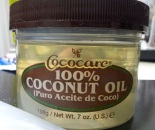 Cococare 100% coconut oil - bought from iherb (as usual!)